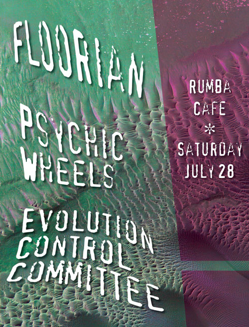 Floorian show poster